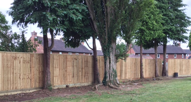 Fencing Work in Shropshire